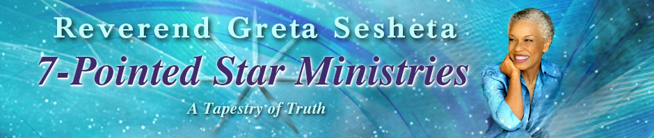 Rev Greta Sesheta 7-Pointed Star Ministries